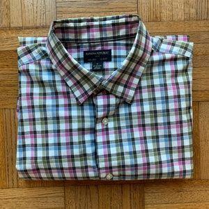 Men's Banana Republic Non-Iron Slim Fit Shirt, M